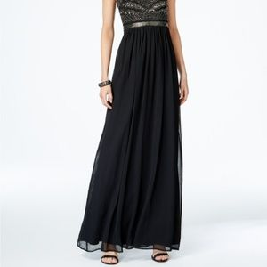 Adrianna Papell Dresses - Adrianna Papell Beaded Chiffon Gown